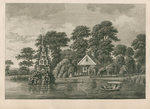 Pleasure garden at Grove Hill, Camberwell, in Surrey by Anonymous - print