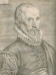 Portrait of Ambroise ParÚ (1505-1590) by Studio of Titian - print