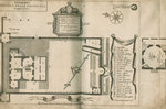 Plan of the Royal Observatory, Greenwich by Francis Place - print