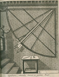 Mural quadrant at the Royal Observatory, Greenwich by Francis Place - print