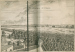 South view from the Royal Observatory, Greenwich by Francis Place - print