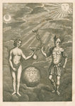 An allegory of chemistry by unknown - print