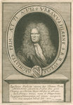 Portrait of Urban Hjarne (1641-1724) by Anonymous - print
