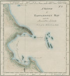 Map of Tappanooly Bay, Sumatra by unknown - print