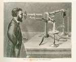 Spectroscope with reflected scale by unknown - print