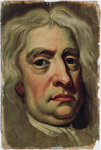 Portrait of Isaac Newton (1642-1727) by John Smith - print