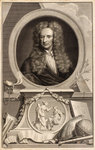 Portrait of Isaac Newton (1642-1727) by Peter Lely - print