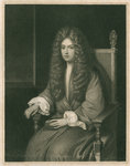 Portrait of Robert Boyle (1627-1691) by Charles Rosenberg I - print