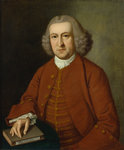 Portrait of Albrecht von Haller (1708-1777) by Jan van Rymsdyk - print