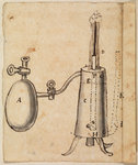 A steam piston engine by Anonymous - print
