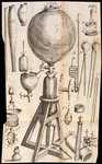 Robert Boyle's air pump by unknown - print