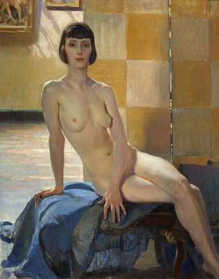 Sunlight Nude Wall Art & Canvas Prints by George Spencer Watson