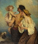 The Family by Laura Theresa Alma-Tadema - print
