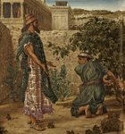King Ahab's Coveting - Naboth Refuses Ahab his Vineyard