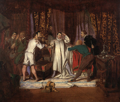 Taming of the Shrew, Induction, Scene ii by Edward Matthew Ward - print