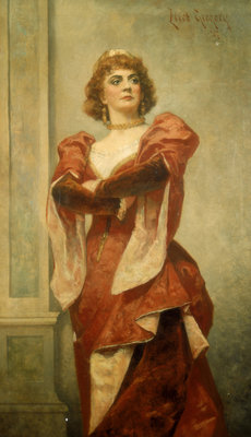 Ada Rehan (1860-1916) as Katharine in The Taming of the Shrew by Eliot Gregory - print