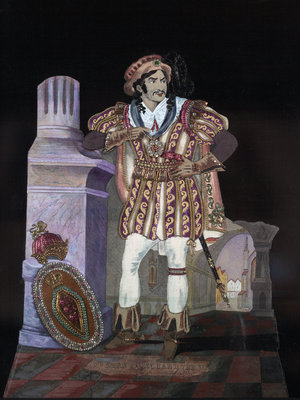 Mr. Kean as Richard III by S Johnson - print