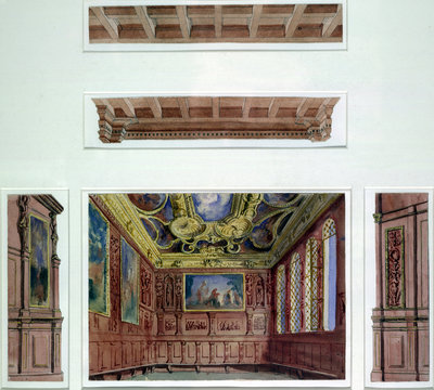 Set designs for The Doge's Palace, The Merchant of Venice by John O'Connor - print