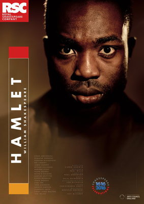 Hamlet, 2016 by Royal Shakespeare Company - print