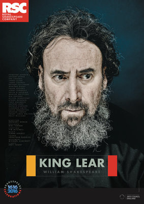 King Lear, 2016 by Royal Shakespeare Company - print