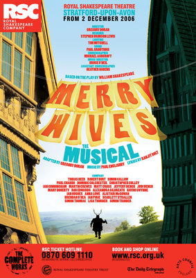 Merry Wives - The Musical, 2007 by Gregory Doran - print