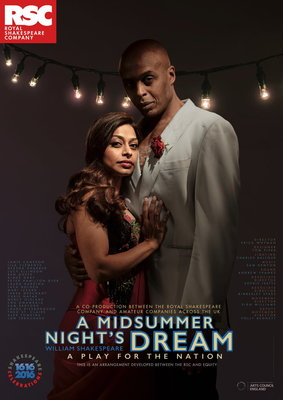 Midsummer Night's Dream, 2016 by Royal Shakespeare Company - print