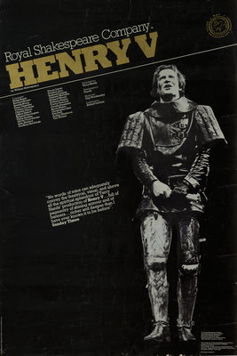 Henry V, 1975 by Terry Hands - print