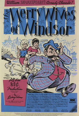 The Merry Wives of Windsor, 1986 by Bill Alexander - print