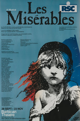 Les Miserables, 1985 by Trevor Nunn - print