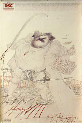 Henry VIII, 1984 by Howard Davies - print