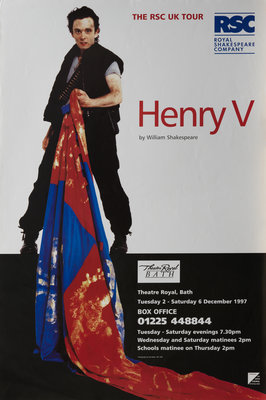 Henry V, 1997 by Ron Daniels - print