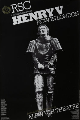 Henry V, 1976 by Terry Hands - print
