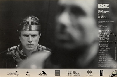 Henry VI - The Battle for the Throne, 1994/5 by Katie Mitchell - print