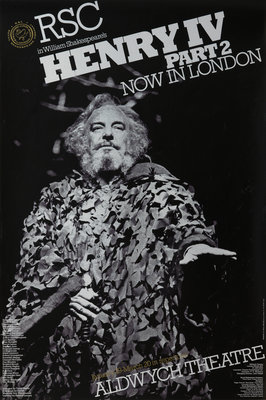Henry IV Part 1, 1976 by Terry Hands - print