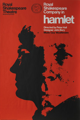 Hamlet, 1966 by Peter Hall - print
