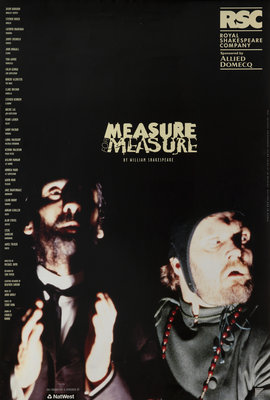 Measure for Measure, 1998 by Michael Boyd - print