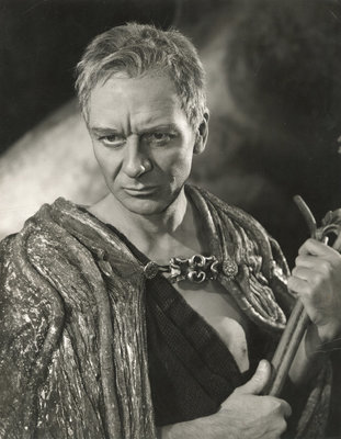 The Tempest 1957, John Gielgud as Prospero by Angus McBean - print