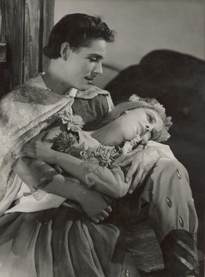 The Winters Tale 1948, Florizel and Perdita by Angus McBean - print