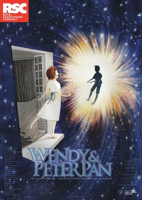 Wendy & Peter Pan, 2013 by Jonathan Munby - print