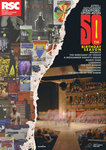 RSC 50th Birthday Season Poster, 2011 by Peter Hall - print