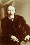 Robert Louis Stevenson, Scottish author Wall Art & Canvas Prints by Sir William Rothenstein