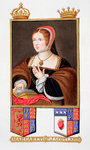 Margaret Tudor, Queen of Scotland Fine Art Print by Anselmus van Hulle