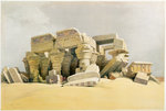 Ruins of the Temple of Kom Ombo Fine Art Print by William James Muller