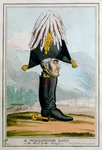 A Wellington Boot- or the Head of the Armye Fine Art Print by English School