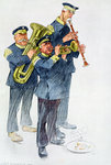 War Loan Music Fine Art Print by Carl Haag