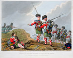 Highland troops at the Battle of Vimeiro Wall Art & Canvas Prints by Robert Alexander Hillingford
