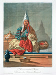 Lama of the Mongolian Tartars Fine Art Print by Vasilij Ivanovic Surikov