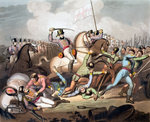 Battle of Salamanca Fine Art Print by Italian School