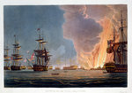 The Battle of the Nile Fine Art Print by William Heath