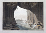 In Fingal's Cave Fine Art Print by Joseph Wright of Derby